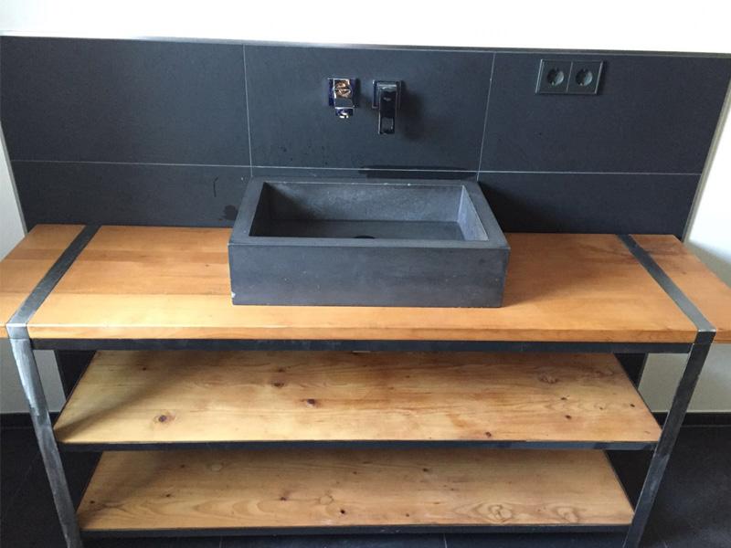 Beton Waschbecken 12